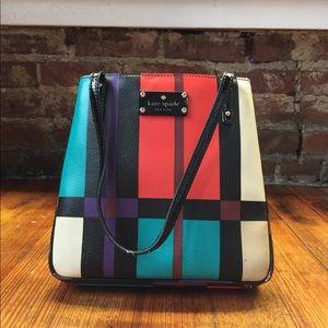 Kate Spade Multi-Color Plaid Handbag